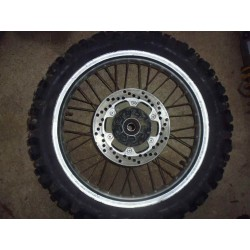 Roue arriere WR 200