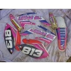 Kit plastiques CRF 250 de 2004