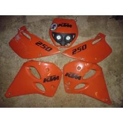 Plastiques KTM 250 de 1995