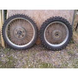 Paire des roues HVA 610 TE de 1998